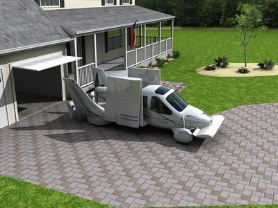 Flying car at home